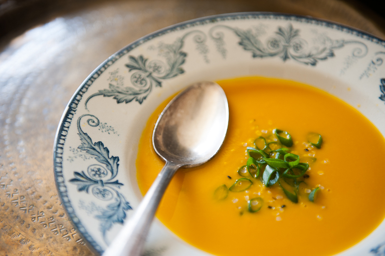 carrot coconut ginger soup