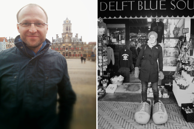 Being tourists in Delft || « Vine and the Olive »
