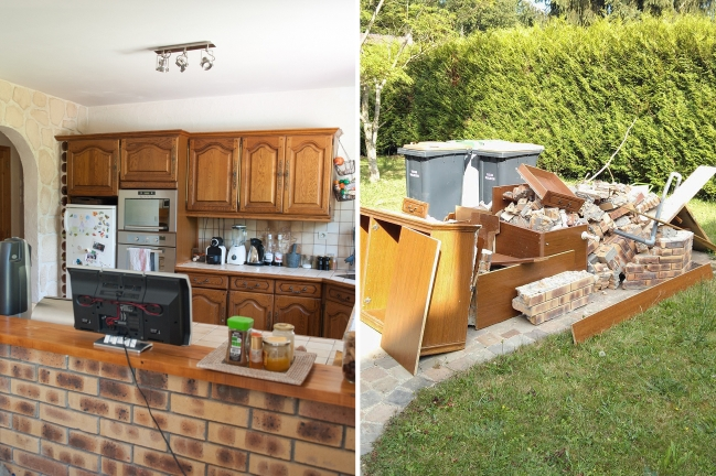 Demolition aftermath || «Vine and the Olive»