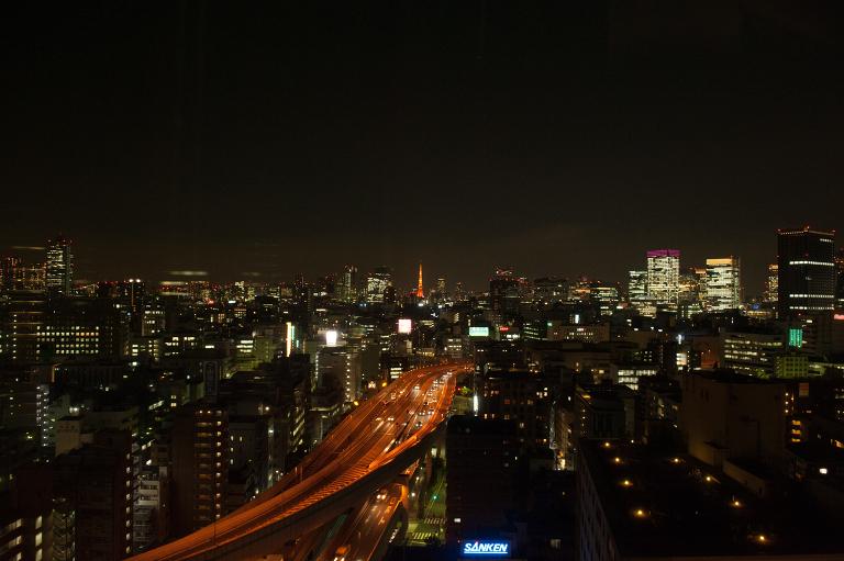tokyo night cityview