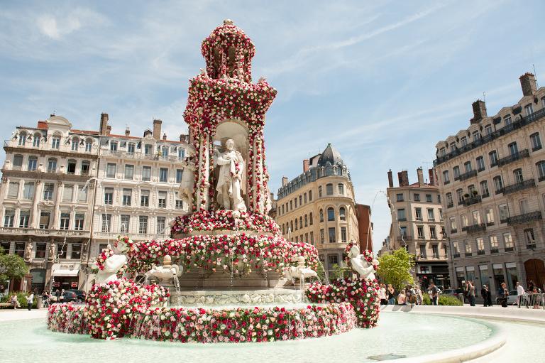 festival of roses lyon
