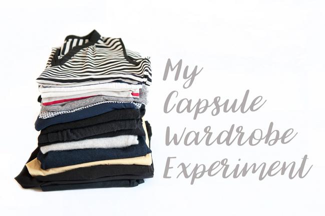 inside my capsule wardrobe