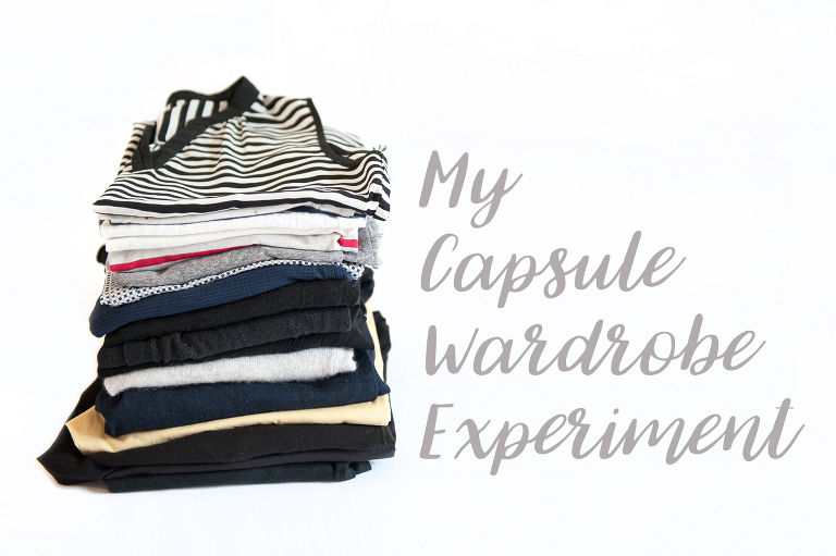 inside my capsule wardrobe