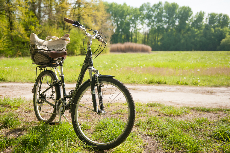 cycling through france