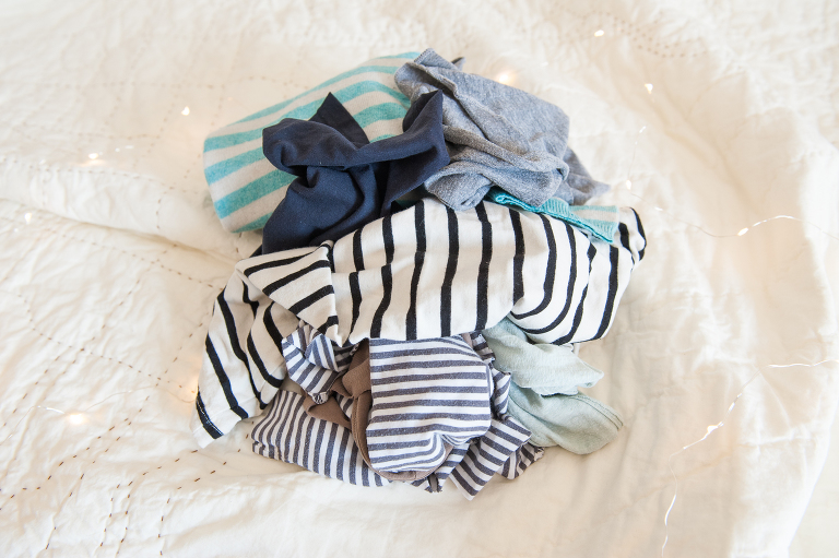 diy baby clothes vine and the olive
