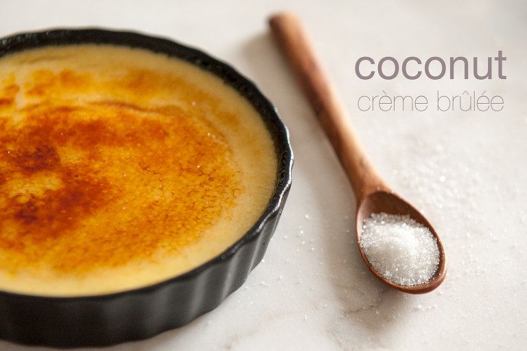 creme brulee by vine and the olive