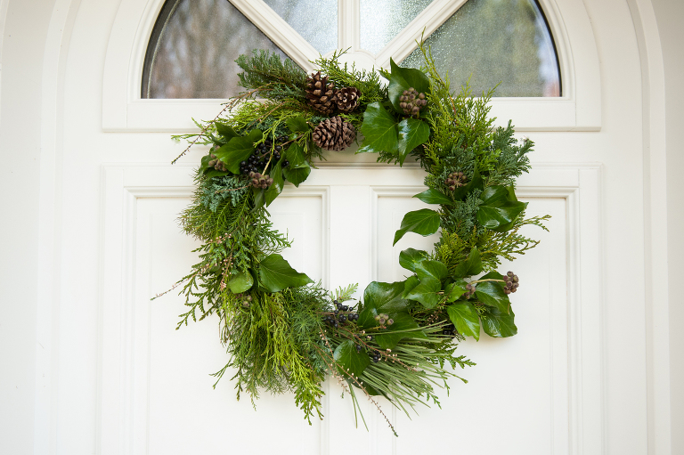 DIY wreath making