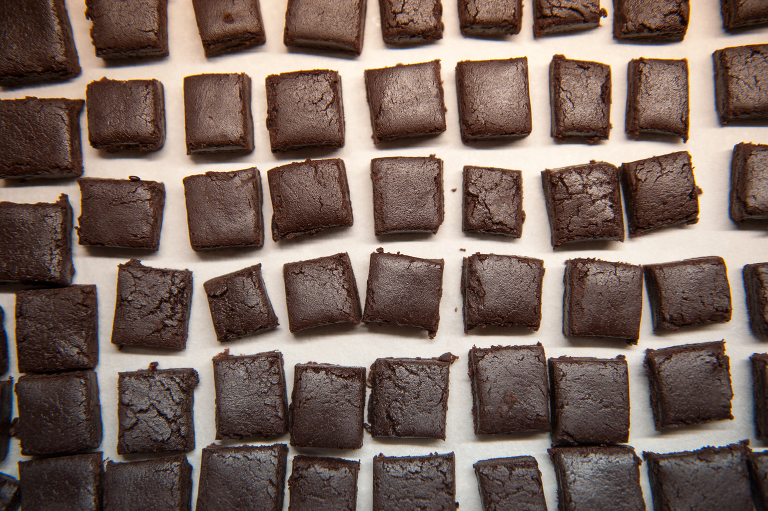 Vine and the Olive brownie bites