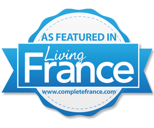 as featured in Living France